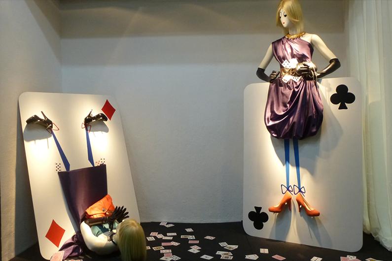 Los escaparates conceptuales representan hoy en día un espacio creativo muy práctico para vender