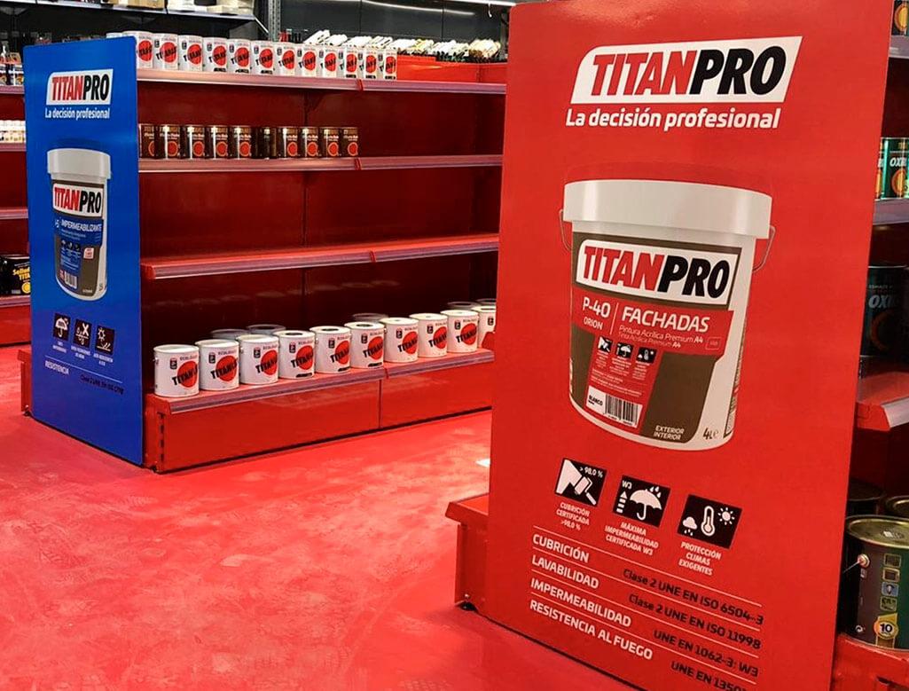Titan Pro | CAAD Retail Design Barcelona