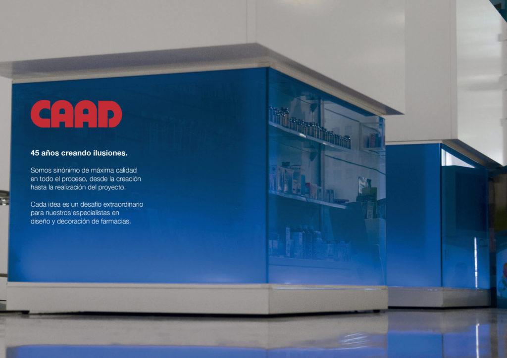 Nuevo tríptico CAAD FARMACIA: Retail Design para farmacias