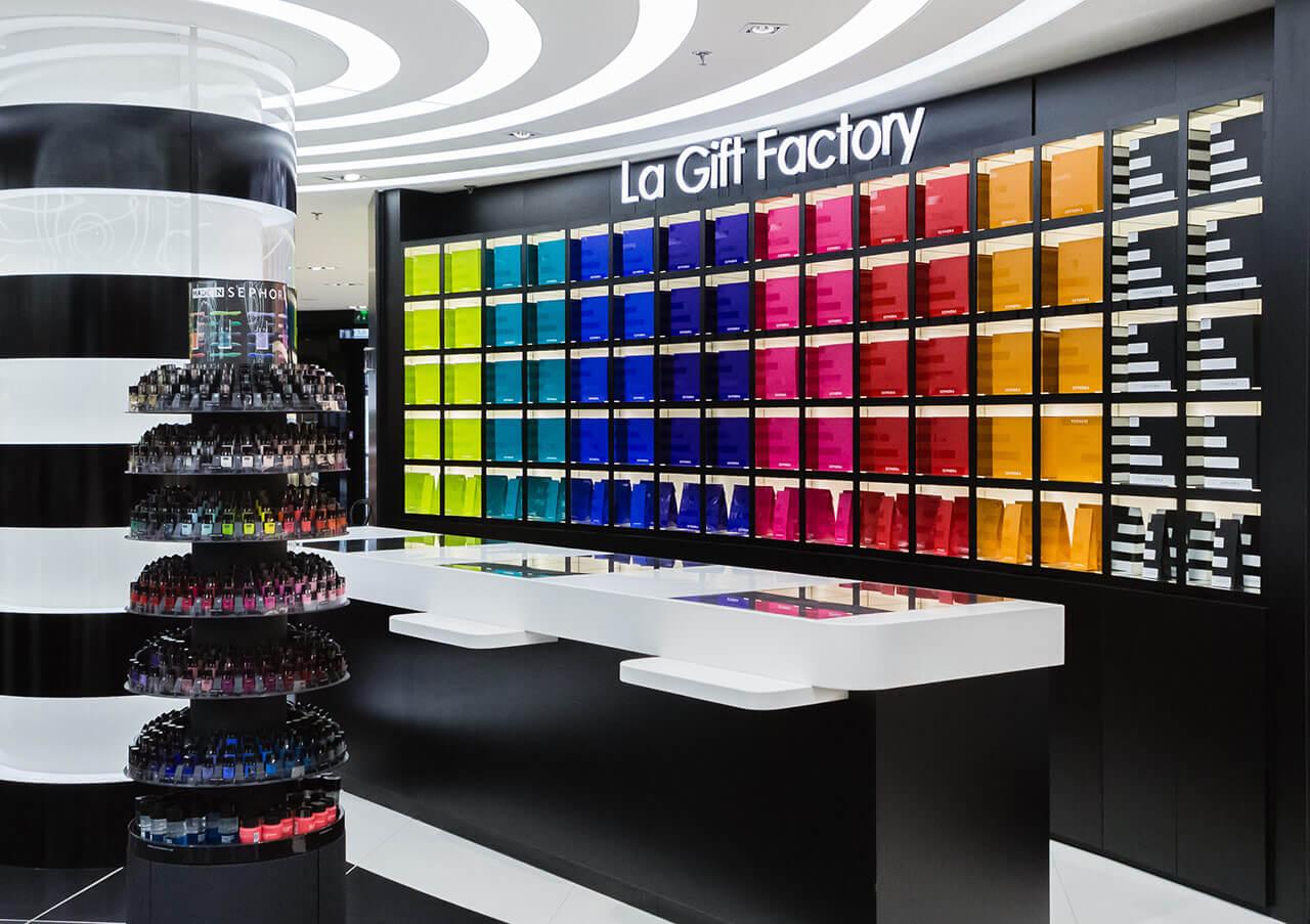 Tendencias en el retail de perfumería y cosmética | La Gift Factory by Sephora