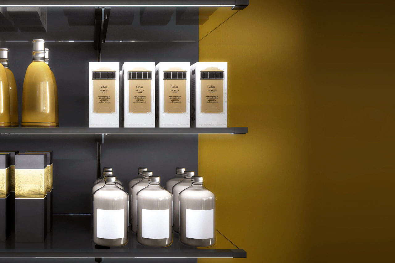Design trends in perfumery and cosmetics retail by CAAD Retail Design