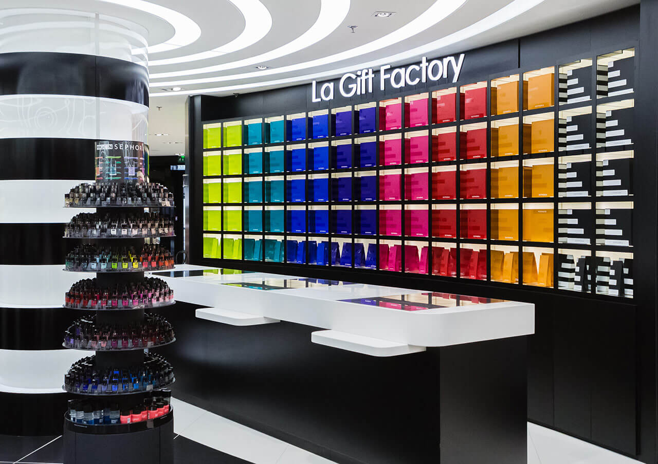 Trends in perfumery and cosmetics retail | La Gift Factory